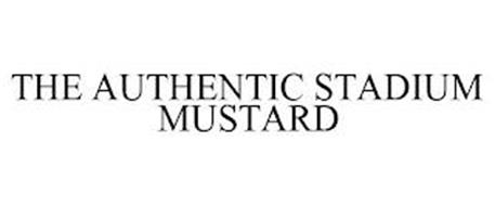 THE AUTHENTIC STADIUM MUSTARD