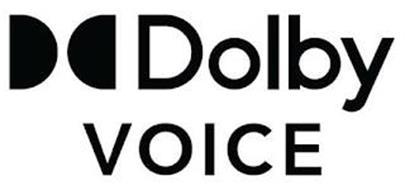 DD DOLBY VOICE