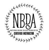 NBDA NATIONAL BLACK DOULAS ASSOCIATION CERTIFIED INSTRUCTOR