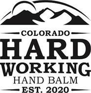 COLORADO HARD WORKING HAND BALM EST. 2020