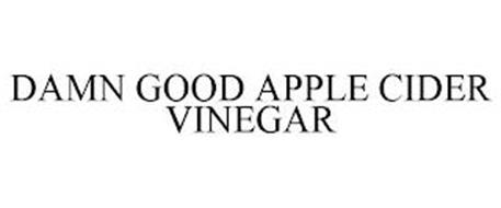 DAMN GOOD APPLE CIDER VINEGAR