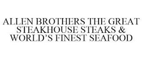 ALLEN BROTHERS THE GREAT STEAKHOUSE STEAKS & WORLD'S FINEST SEAFOOD