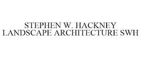 STEPHEN W. HACKNEY LANDSCAPE ARCHITECTURE SWH