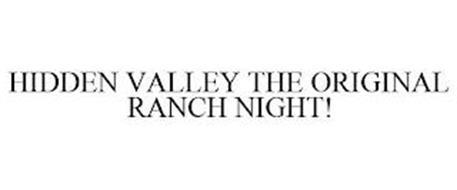 HIDDEN VALLEY THE ORIGINAL RANCH NIGHT!