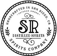SR DISTILLED SPIRITS HANDCRAFTED IN SAN DIEGO, CA VETERAN OWNED SPIRITS COMPANY
