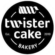 TWISTER CAKE BAKERY EST. 2010
