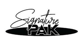 SIGNATURE PAK