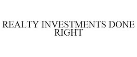 REALTY INVESTMENTS DONE RIGHT
