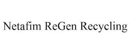 NETAFIM REGEN RECYCLING