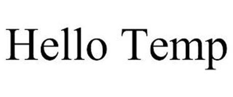 HELLO TEMP