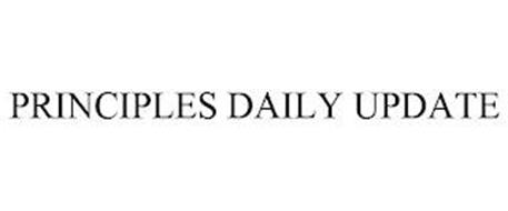 PRINCIPLES DAILY UPDATE
