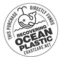 THIS PURCHASE DIRECTLY FUNDS RECOVERING OCEAN PLASTIC COASTCARE.NET