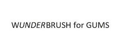 WUNDERBRUSH FOR GUMS