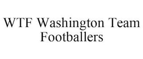 WTF WASHINGTON TEAM FOOTBALLERS