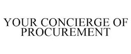 YOUR CONCIERGE OF PROCUREMENT