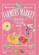 WINEMAKERS SELECTION FARMERS MARKET ITALIAN ORGANIC WINE FROM FARM TO TABLE VEGAN 750ML ALC 13.5%
