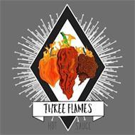 THREE FLAMES HOT SAUCE