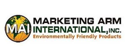 MAI MARKETING ARM INTERNATIONAL, INC. ENVIRONMENTALLY FRIENDLY PRODUCTS