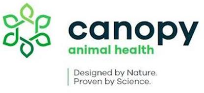 CANOPY ANIMAL HEALTH DESIGNED BY NATURE. PROVEN BY SCIENCE.