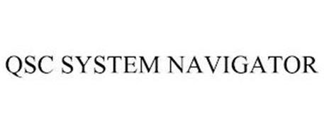 QSC SYSTEM NAVIGATOR