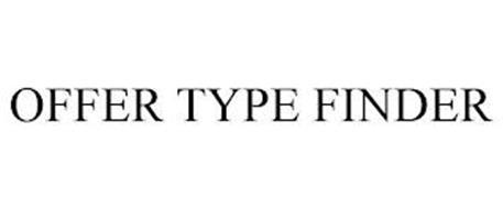 OFFER TYPE FINDER