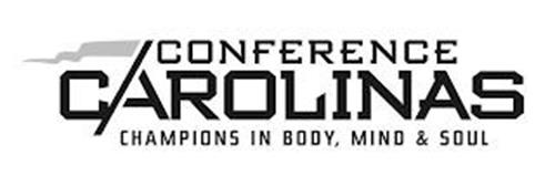 CONFERENCE CAROLINAS CHAMPIONS IN BODY, MIND & SOUL
