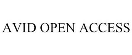 AVID OPEN ACCESS