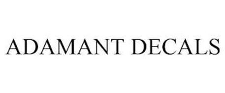 ADAMANT DECALS