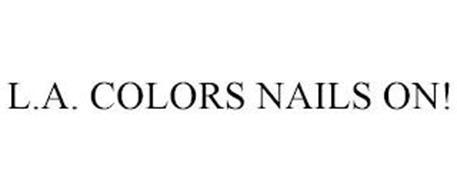 L.A. COLORS NAILSON!