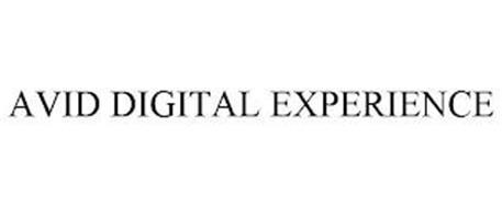 AVID DIGITAL EXPERIENCE