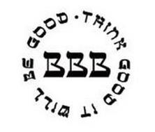 BBB THINK GOOD IT WILL BE GOOD