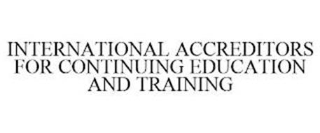 INTERNATIONAL ACCREDITORS FOR CONTINUING EDUCATION AND TRAINING