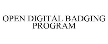 OPEN DIGITAL BADGING PROGRAM