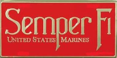 SEMPER FI UNITED STATES MARINES