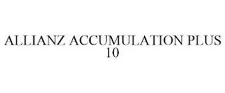 ALLIANZ ACCUMULATION PLUS 10