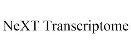 NEXT TRANSCRIPTOME