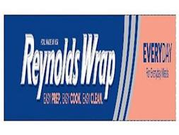 FOIL MADE IN USA REYNOLDS WRAP EASY PREP. EASY COOK. EASY CLEAN. EVERYDAY FOR EVERYDAY MEALS