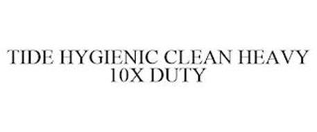 TIDE HYGIENIC CLEAN HEAVY 10X DUTY