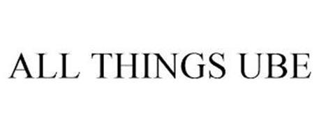ALL THINGS UBE