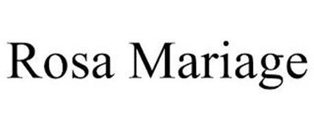 ROSA MARIAGE