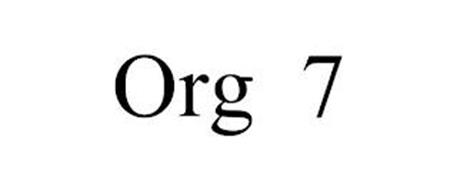 ORG 7