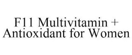F11 MULTIVITAMIN + ANTIOXIDANT FOR WOMEN