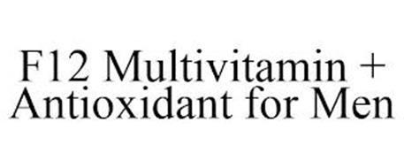 F12 MULTIVITAMIN + ANTIOXIDANT FOR MEN