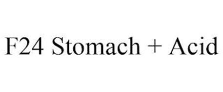 F24 STOMACH + ACID