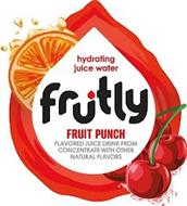 HYDRATING JUICE WATER FRUTLY FRUIT PUNCH FLAVORED JUICE DRINK FROM CONCENTRATE WITH OTHER NATURAL FLAVORS