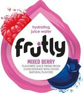 HYDRATING JUICE WATER FRUTLY MIXED BERRY FLAVORED JUICE DRINK FROM CONCENTRATE WITH OTHER NATURAL FLAVORS