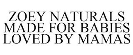 ZOEY NATURALS MADE FOR BABIES LOVED BY MAMAS