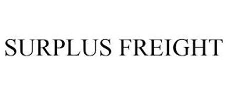 SURPLUS FREIGHT