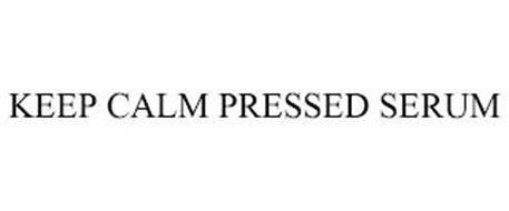 KEEP CALM PRESSED SERUM