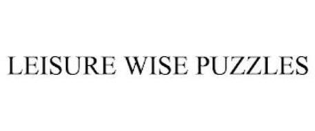 LEISURE WISE PUZZLES